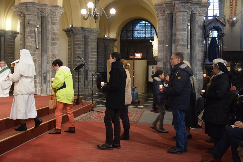 13 11 2016 Fermeture porte sainte cathedrale de Tournai4