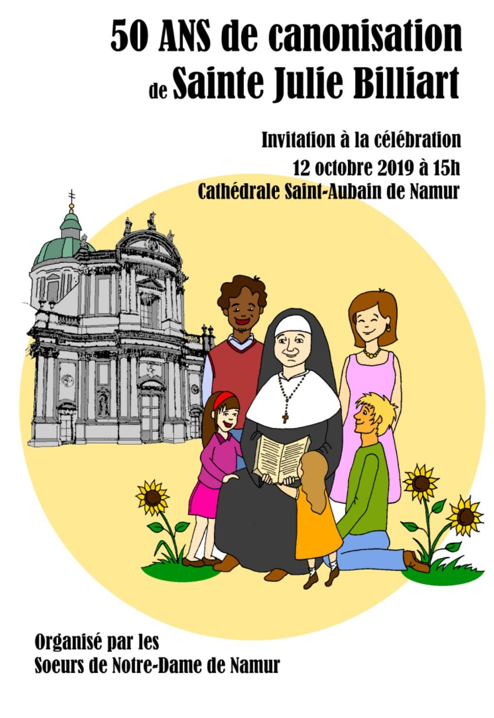 50 ans canonisation julie billiart