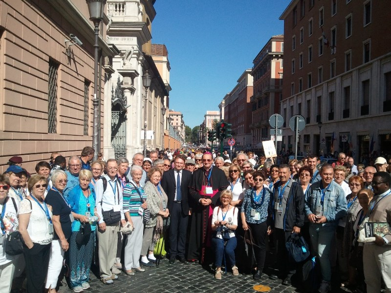 05 10 2016   Pelerinage diocesain Rome 20165